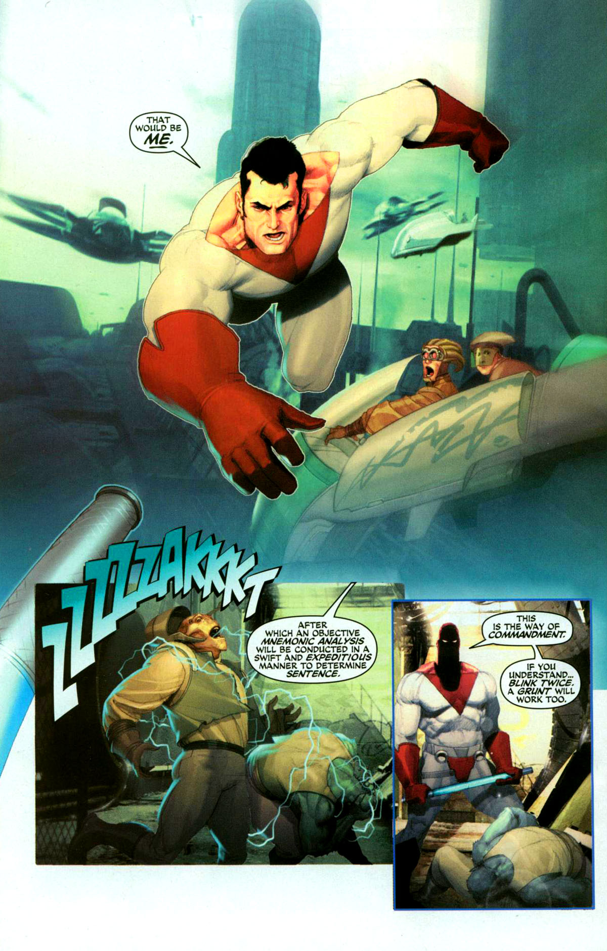 Read online Space Ghost (2005) comic -  Issue #1 - 5
