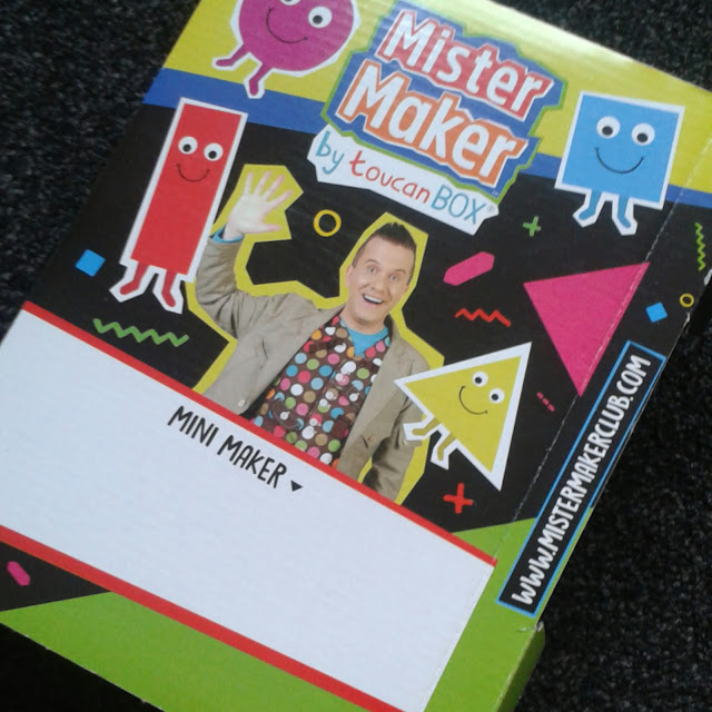 Mister maker club packaging