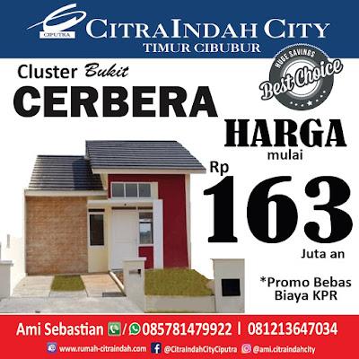 Cluster Bukit CERBERA Citra Indah City