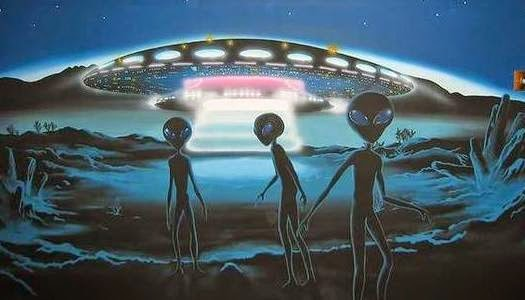 Extraterrestres y ovni