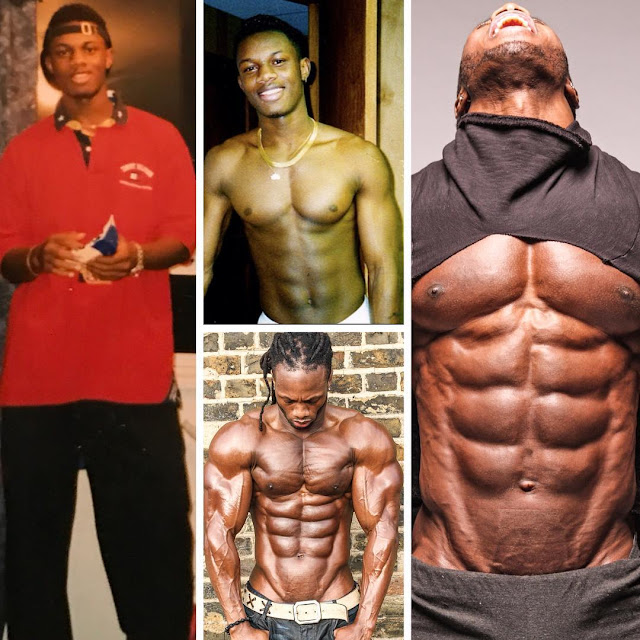 Ulisses Jr Fitness model Muscle Progression