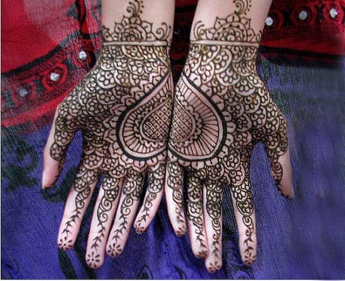Mehndi Designs Heart : Easy heart shaped mehndi designs images for hands romantic