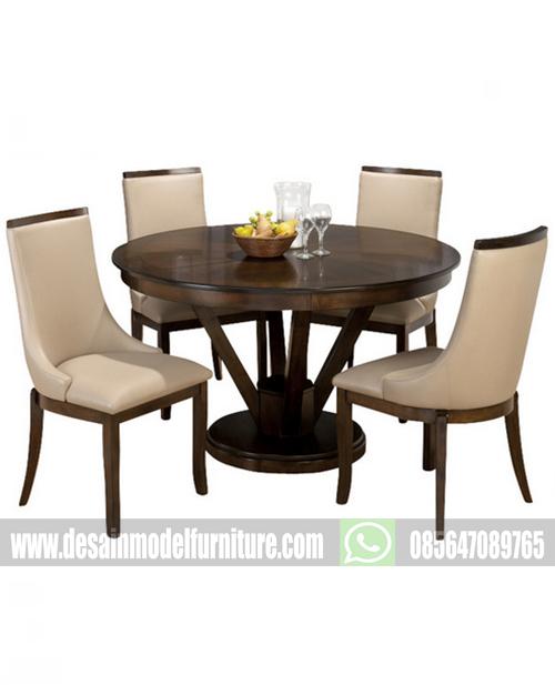 Harga meja makan minimalis kayu jati model klasik