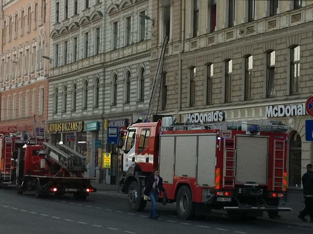 Camión de bomberos de Riga