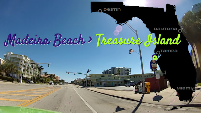 Madeira Beach nach Treasure Island
