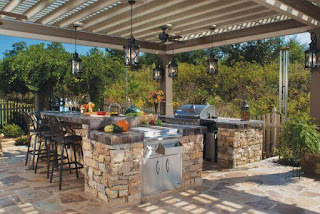 Best Outdoor Kitchen Decoration Ideas With Your Self