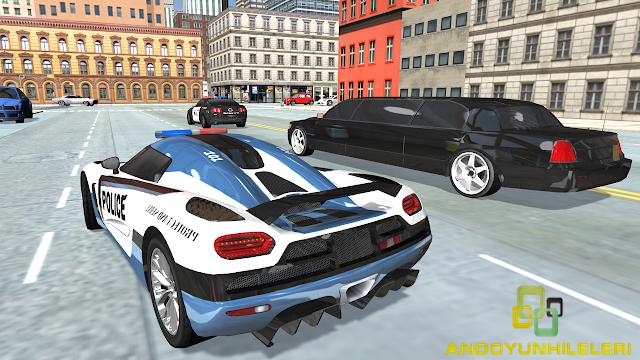 Police Car Simulator - Cop Chase v1.0.0 Para Hileli