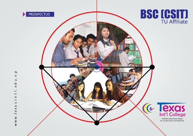 Texas International College Bsc CSIT Prospectus