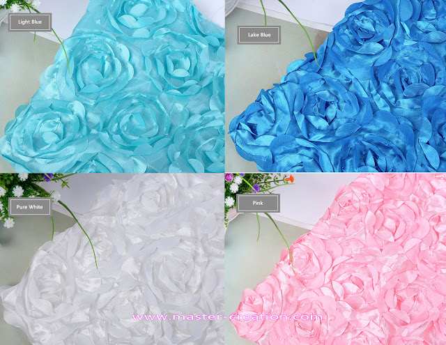 rose knitted satin cloth