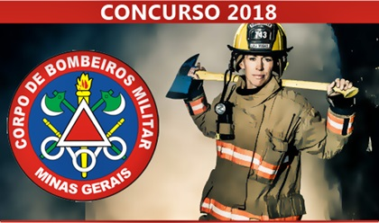 Concurso Público CBM-MG 2018 CFO