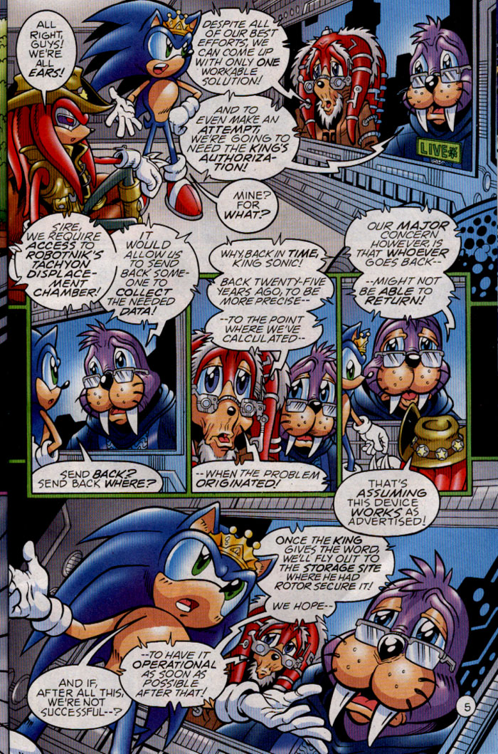 Read online Sonic The Hedgehog comic -  Issue #142 - 23