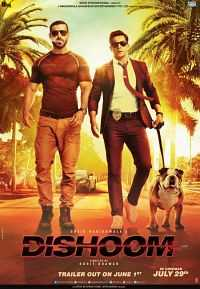 Download Dishoom (2016) Bollywood Movie 700mb