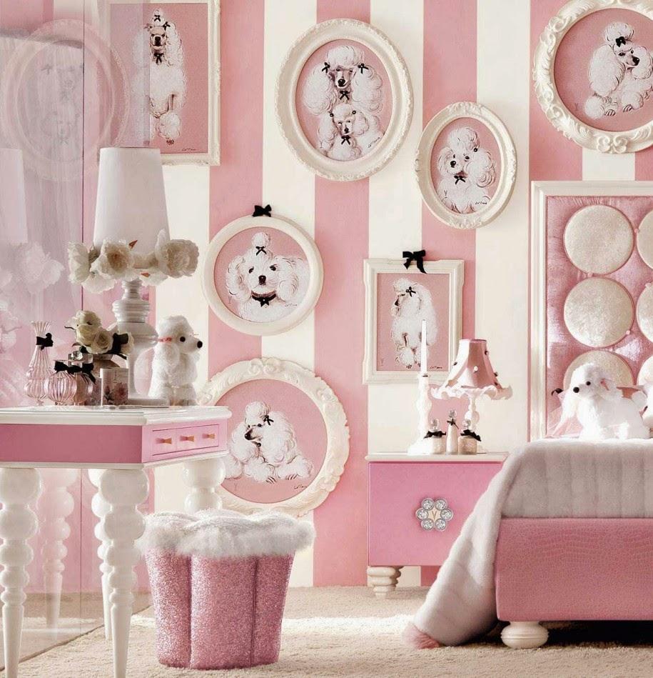 Inspirasi Wallpaper Merah Muda Untuk Ruangan Yang Indah ...
