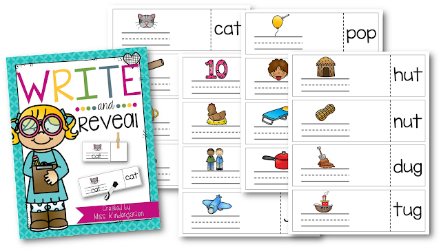 https://www.teacherspayteachers.com/Product/Write-and-Reveal-CVC-words-2543526