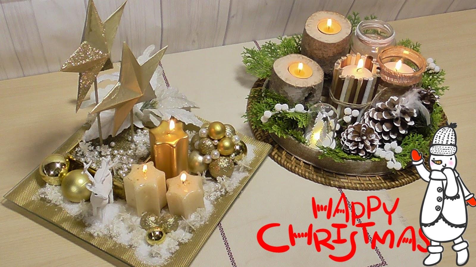 El rinc n de las manualidades caseras ideas para navidad - Ideas para arreglos navidenos ...