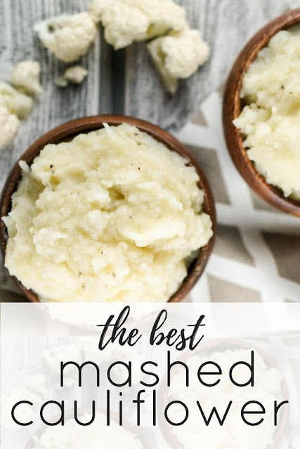 The Best Mashed Cauliflower