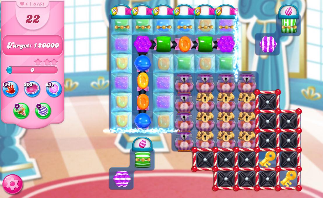 Candy Crush Saga level 6751