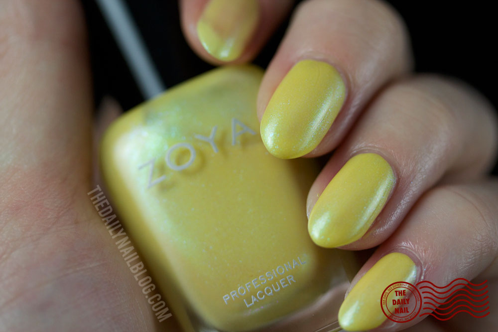 Zoya Daisy Swatch - Zoya Delight 2015 Collection - 2