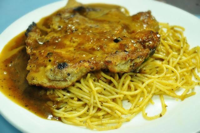 Chicken Grill Pasta