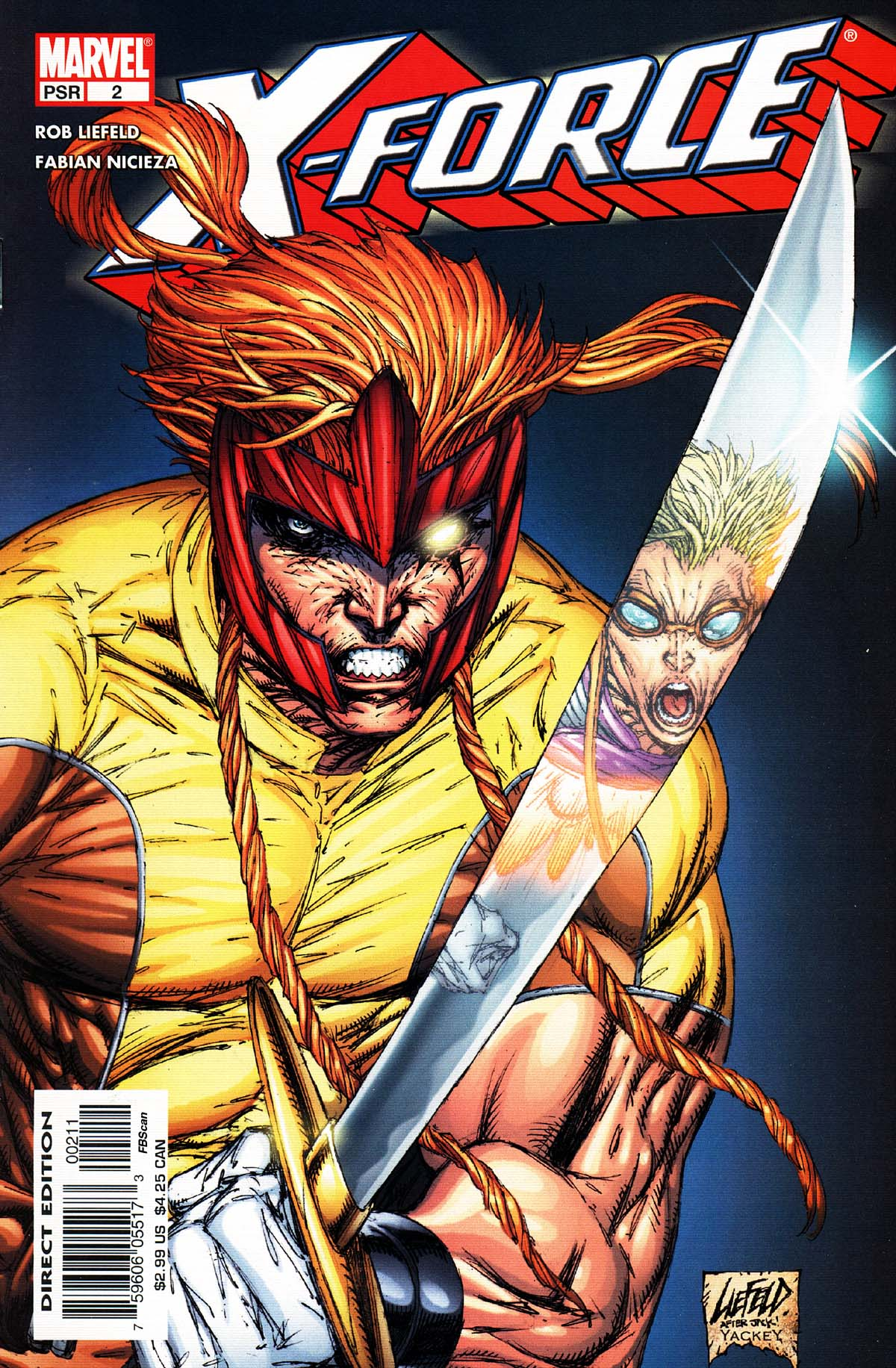 Read online X-Force (2004) comic -  Issue #2 - 1