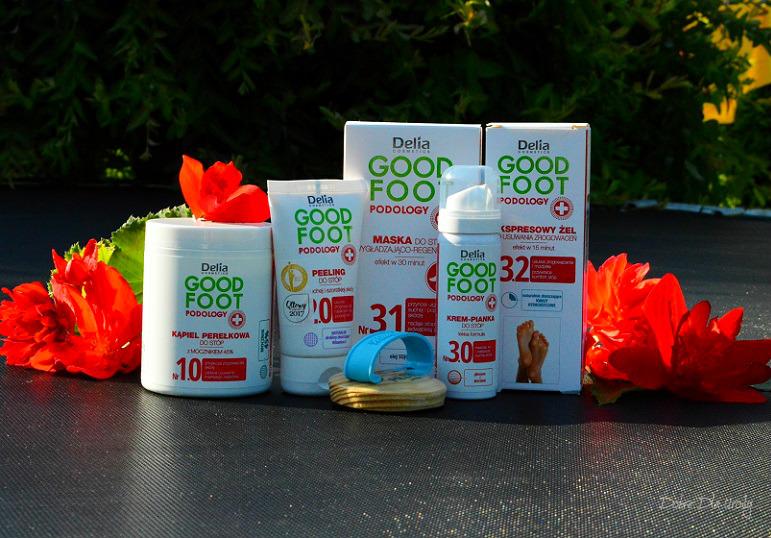 Delia Cosmetics Good Foot Podology zadbaj o stopy profesjonalnie!