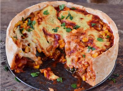 DEEP DISH PIZZA #pizza #food