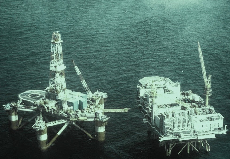 Alexander L. Kielland drilling rig failed in 1980 having steel platform