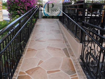 #decorativeconcrete #decorativeoverlay #walkway #concrete