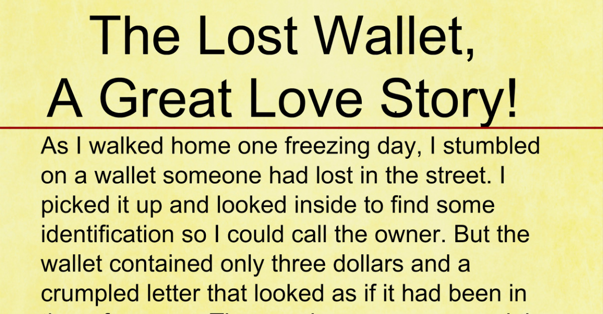Adorable Quotes The Lost Wallet A Great Love Story