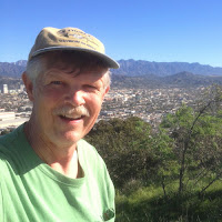 Dan Simpson on Beacon Hill (1001'), Griffith Park, Los Angeles, February 15, 2016