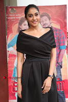 Actress Regina Candra Pos in Beautiful Black Short Dress at Saravanan Irukka Bayamaen Tamil Movie Press Meet  0030.jpg