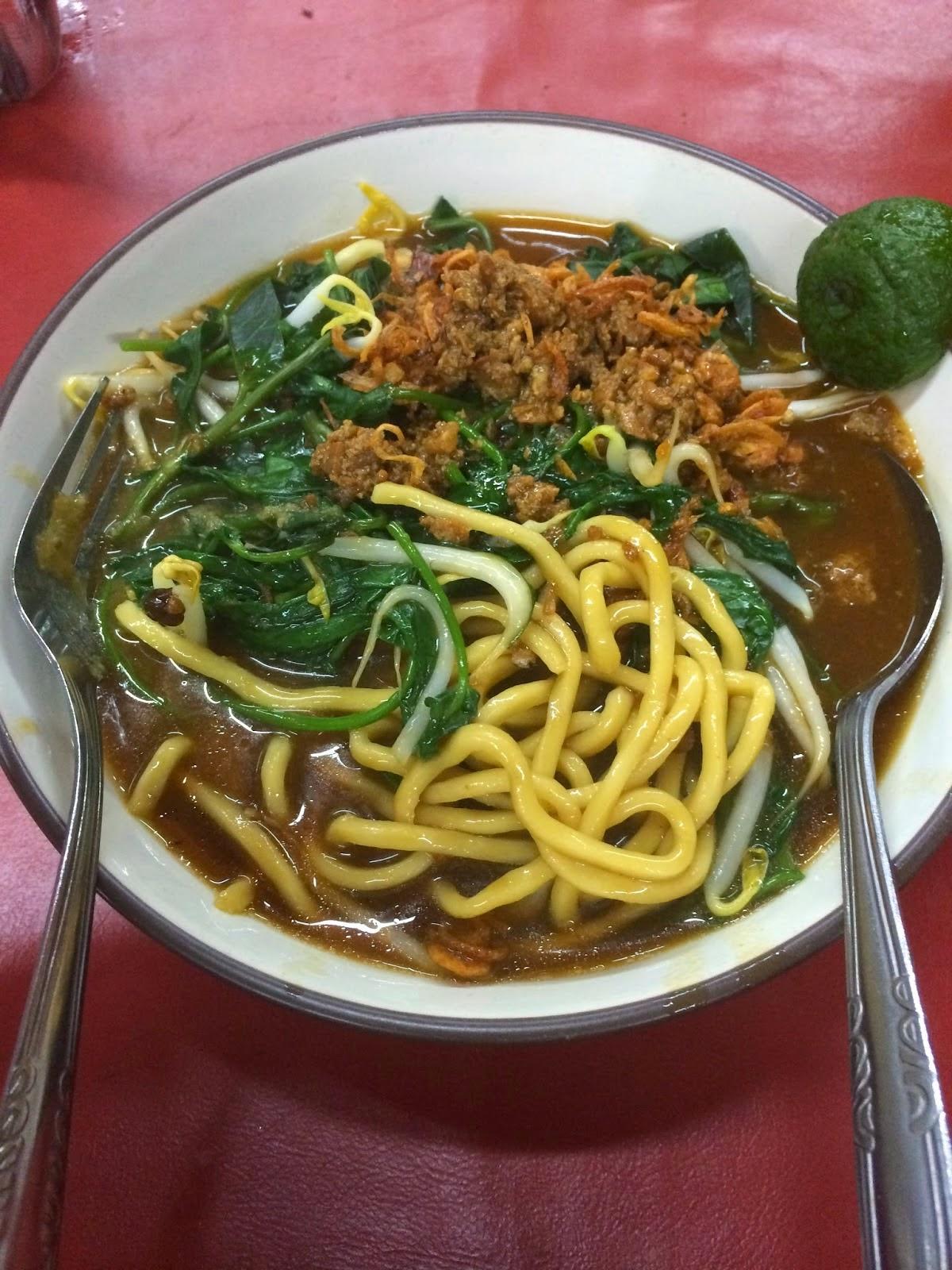 Kuliner Pasar 8 Alam Sutera By Iwen Martin Mie Kangkung