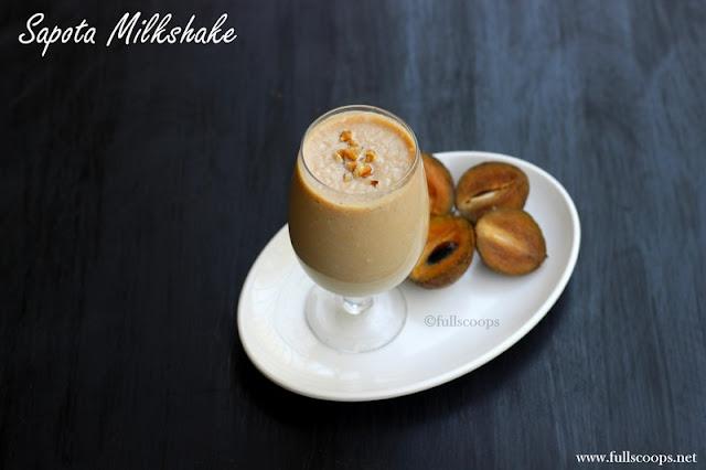 Sapota Milkshake