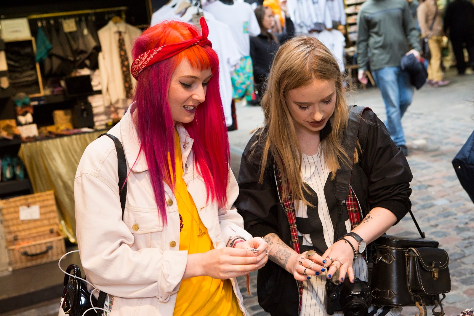 Fashion Blogger Lucy Love explores Camden Market