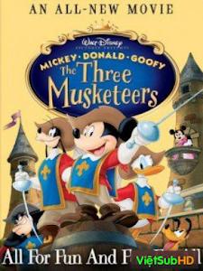 Mickey, Donal, Goofy: Ba Chàng Lính Ngự Lâm