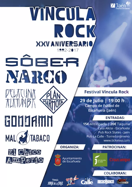Cartel Vincula Rock XXV