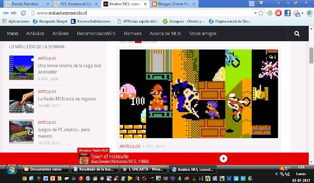 249. Ventana al Cyberespacio 3: Mi Lado Nintendo
