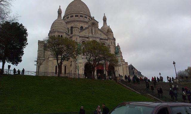 Basilique du Sacré-Cœu paris frança