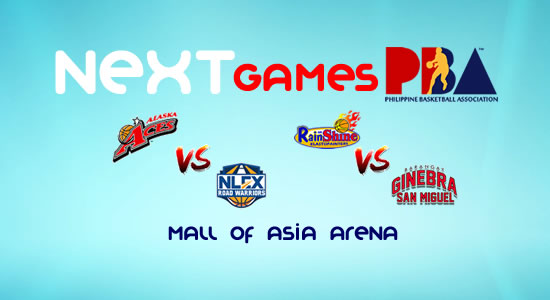 List of PBA Games: March 5 at MOA Arena 2017-2018 PBA Philippine Cup