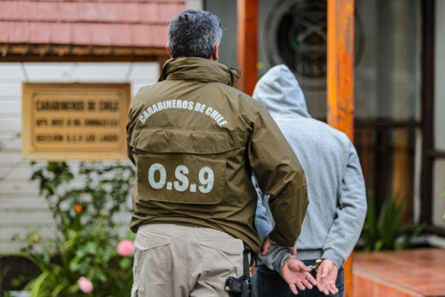 Prófugo es detenido por Carabineros del O.S.9 Pto. Montt