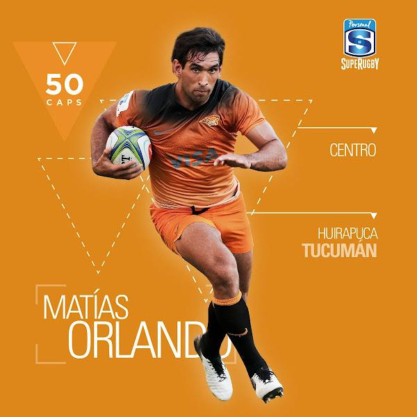 Matías Orlando llegó a los 50 Caps con Jaguares #SuperRugby