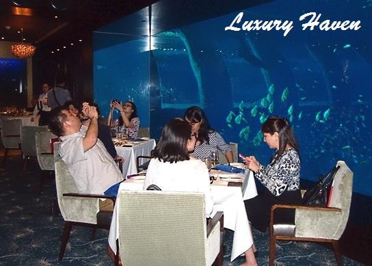 rws ocean restaurant media event