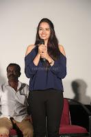 Poojita Super Cute Smile in Blue Top black Trousers at Darsakudu press meet ~ Celebrities Galleries 013.JPG