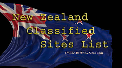 New Zealand Classified Sites List