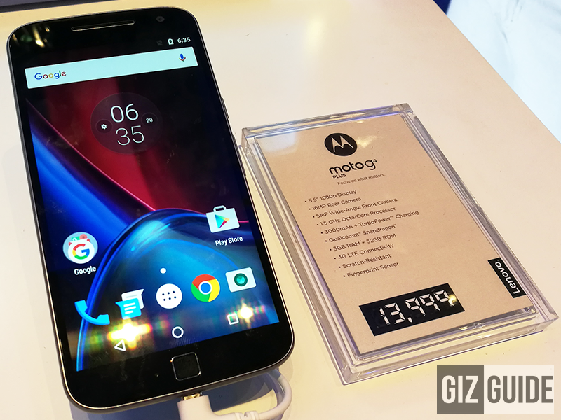 Moto G4 Plus Launched In The Philippines, Retails For PHP 13999!