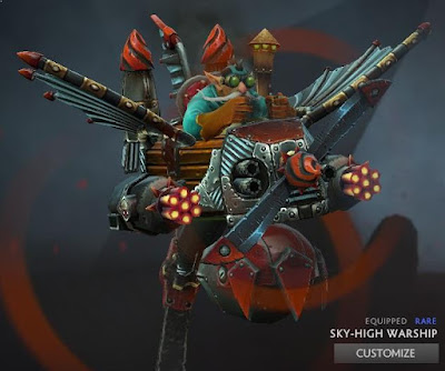 Gyrocopter - Sky-High Warship 1