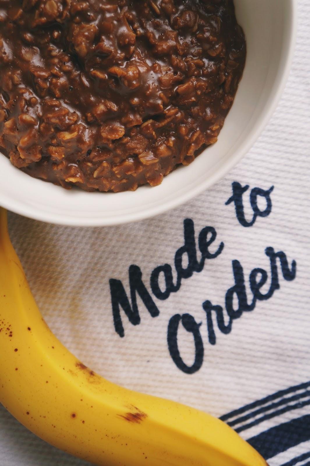 mocha oatmeal