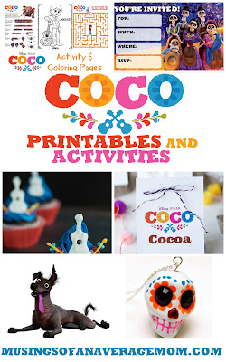 pixar coco party ideas