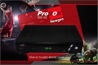 NOVA ATUALIZAÇÃO PROBOX PB 300 HD V 1.10S