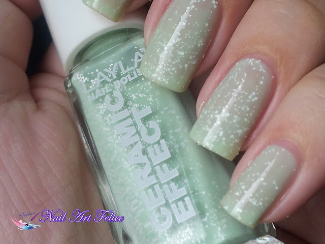 CE105 Mint Dynasty - Ceramic Sorbet Effect Layla - Swatch01 - Nail Art Felice